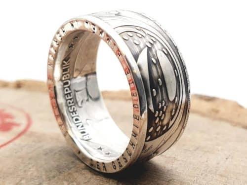 Münzring Silber Himmelsscheibe von Nebra personalisierbar