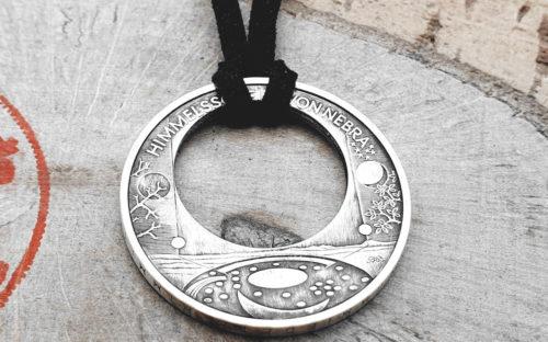 925er Silber Anhänger Himmelsscheibe v. Nebra